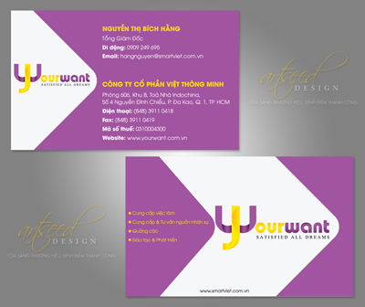Namecard yourwant